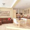 Дизайн кухні студії - фото креативних рішень
