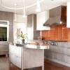 Гіпсокартонна стеля на кухні