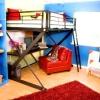 Ліжко горище для підлітка