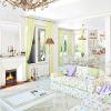 Біла вітальня - від маленької хрущовки до розкоші арт-деко