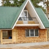 Будинки з окоренной колоди - фото, проекти, ціни