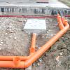 Порядок виконання робіт при влаштуванні зовнішньої каналізаційної системи