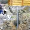 Ухил і утеплення каналізації в приватному будинку