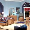 Фото дизайнерських рішень інтер'єру дитячої кімнати для хлопчика